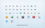 Online editor icons by Ashung