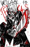 Kabuto and a Chainsaw by Yakushi--Kabuto