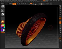 Front Hot Rod Tire by dragondragon