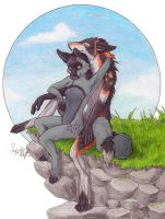 Kannon Commission Springtime by blaze-huskie