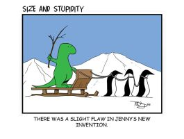 Sled by Size-And-Stupidity