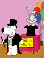 BRIAN and STEWIE MAGIC by phymns