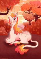 Unicorn Dawn by chelseyholeman