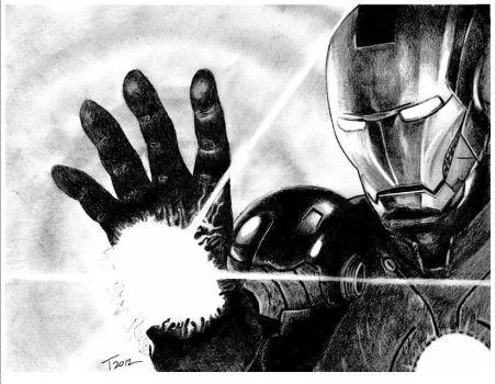 The Avengers: Iron Man by ToniMariaAli
