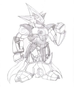 Super neo metal sonic by ALX10
