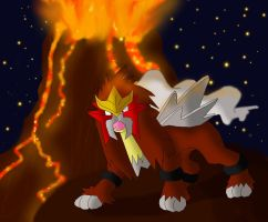 Entei by SEBASTIEN11