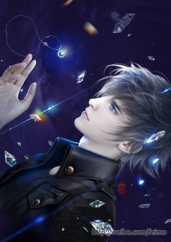 Prince Noctis - FFXV - by feimo