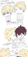 Others ukes (Dmmd) by DayaChUu