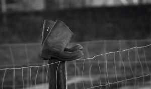 Working Boots (bw) by Danimatie