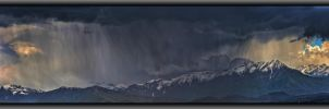 Storm on muntain by mauromago