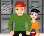 KevEdd: Don't Touch The Dweeb by BlackAngelLucia