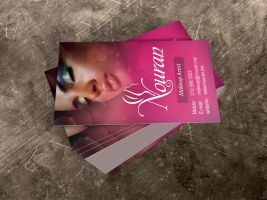 Nouran BC business card by creations-ad