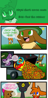 Stupid short eevee comic 45 by pinkeevee222