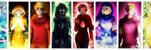 Homestuck God tiers by Hikiko-chan