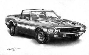 '69 Ford Mustang Shelby GT 350 by Regius