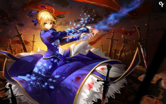 Saber by Liang-Xing