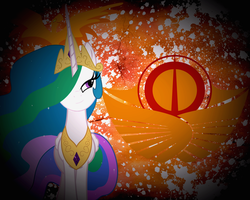 The Solar Empire by JustaninnocentPony