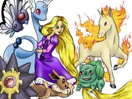 Rapunzel's Pokemon by hyperactive-activate