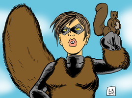 Squirrel Girl by EarthmanPrime