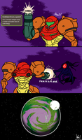 Metroid: Annihilator Beam by doodlegarmander
