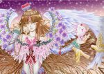 Clamp's mokona floral angel by marvioxious89
