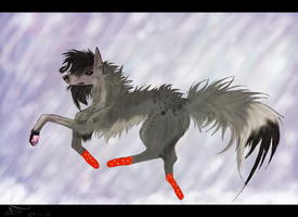 Walking in a Winterwonderland by Snowstorm-wolf