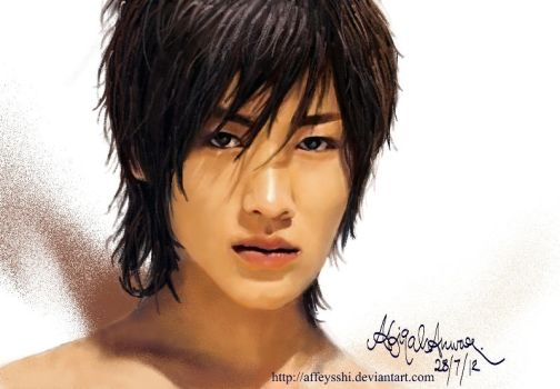 Akanishi Jin - Speed Paint Practice 3 by affeysshi