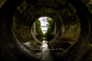 In the Spillway by butterphoto