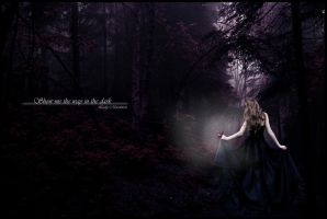 Show me the way in the dark by Lady-Merenwen