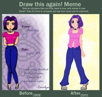 Before + After: Andra by doodler