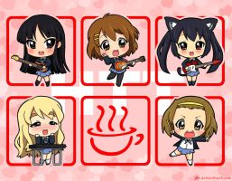 Chibi Houkago Tea Time Band by J8d