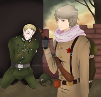 APH-Time to pay for your actions by Mira-chii