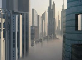 Foggy Town Extendet by LadyShock