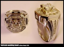 Intricate wedding band by Dans-Magic