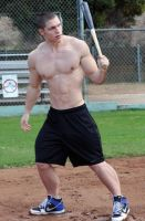 Baseball Player 2 by Stonepiler