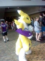 Renamon at Otakon 2013 by Deitz94