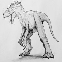 Indominus Rex by artisticallyautistic