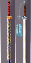 Chinese Sword Design (Han Sword/Tassel Jian) by sam1027
