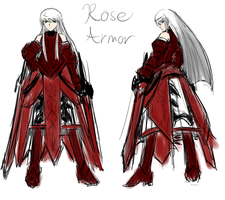 Concept: Beatrix Rose Armor by PeterPrime