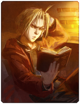 Edward Elric by AironMag