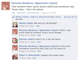 Hetalia Facebook: Prank Called by gilxoz-epicness