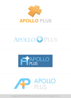 Apollo Plus Logo Design Study by rheyzer