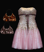 Formal Dress And Purses by letinhastock