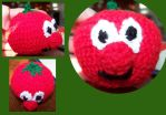Bob the Tomato by JenniferElluin