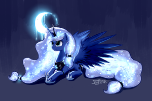 Princess of the Moonlight by JunkieKB