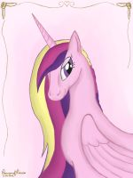 Princess Cadence Portrait by Peruserofpieces