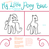 My Little Pony Character Base by enigmatia