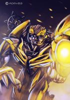 Doodle - Bumble Bee by Adry53