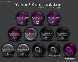 Yahoo Konfabulator by 3xhumed
