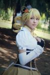Moment of peace. Mami Tomoe cosplay, madoka magica by Giuzzys